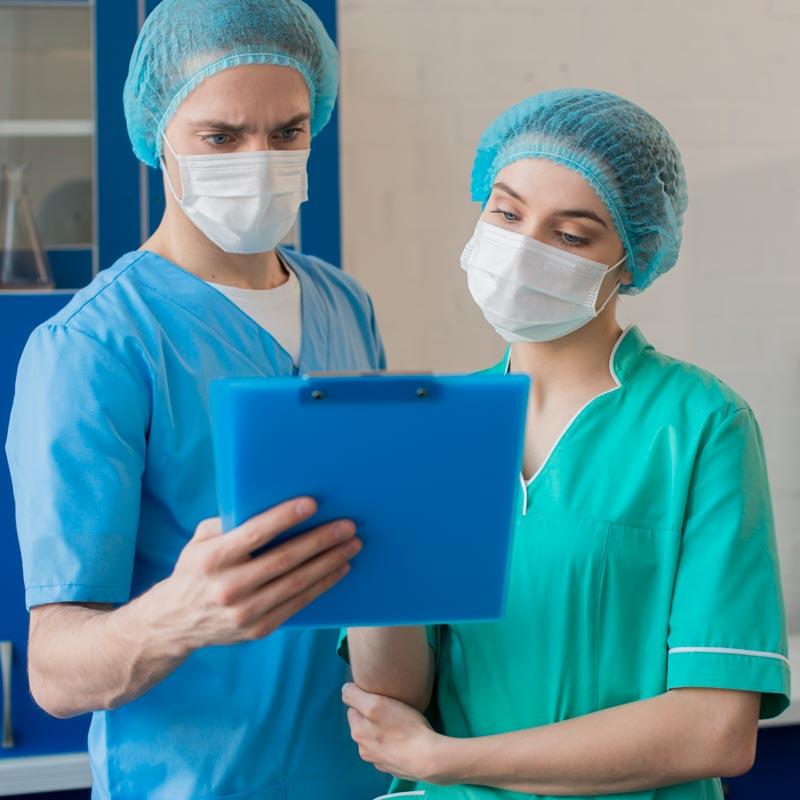 Enfermeros Covid